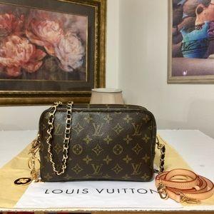 Louis Vuitton Monogram Clutch/Crossbody Bag 💼